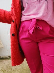 Mums That Slay - How to Wear Winter Brights Like a Mum Colour Blocking Mummy Fashion Blogger