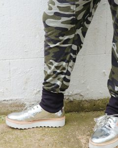 Mums That Slay Stylish Camouflage Buys for Spring H&M Camo Joggers