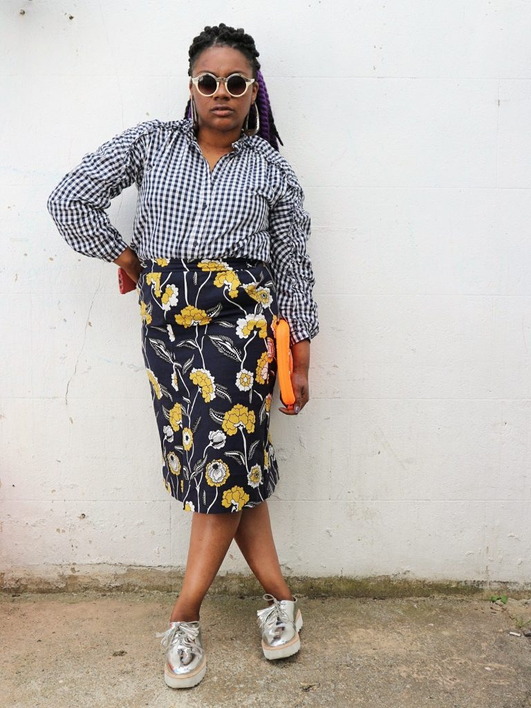 Mums That Slay One printed skirt three ways