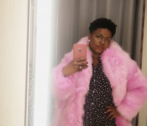 Mums That Slay Black Fashion Blogger MAMA WANTS A SUPERFLY FAUX FUR COAT