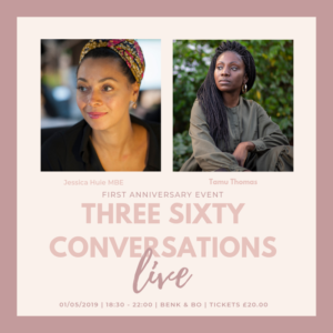 Live Three Sixty live podcast Black Motherhood Black British Bloggers Wellness Business Lifestyle Blog