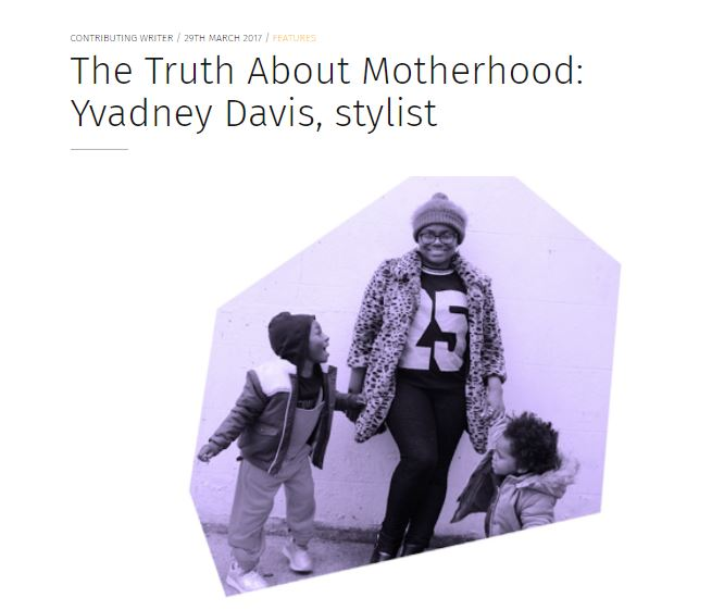 The Early Hour Yvadney Davis Mums That Slay