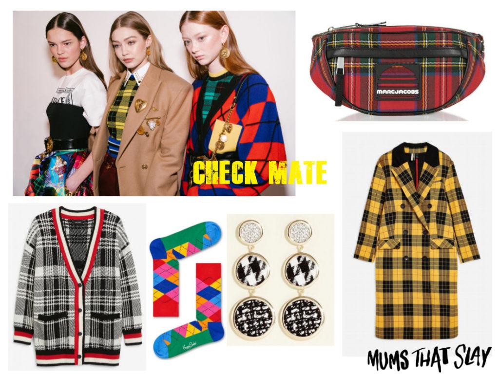 fashion blogger mama style blog check tartan fashion trend